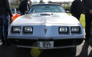 Pontiac Firebird Goodwood Breakfast Club Soft Top Sunday May 2016