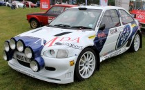 Ford Escort MK5 Rally car Cholmondeley Power and Speed 2016