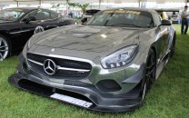 Mercedes AMG GT Gumball front Cholmondeley Power and Speed 2016