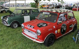 Mini Cooper S rally car Cholmondeley Power and Speed 2016