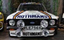 Ford Escort Rothmans rally Beaulieu