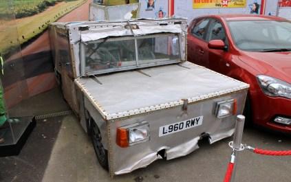 Geoff iEagle hammerhead thrust electric car top gear Beaulieu