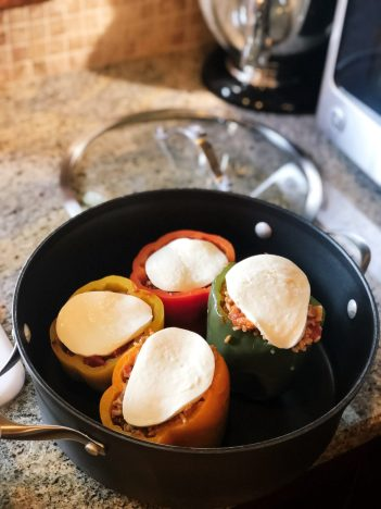 Italian Peppers with Chicken | The Driven Mama