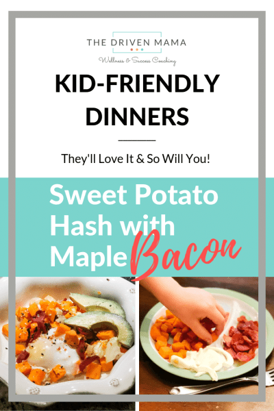 Sweet Potato Hash the Kids will Love