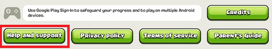 Change Clash of Clans Email Account Change