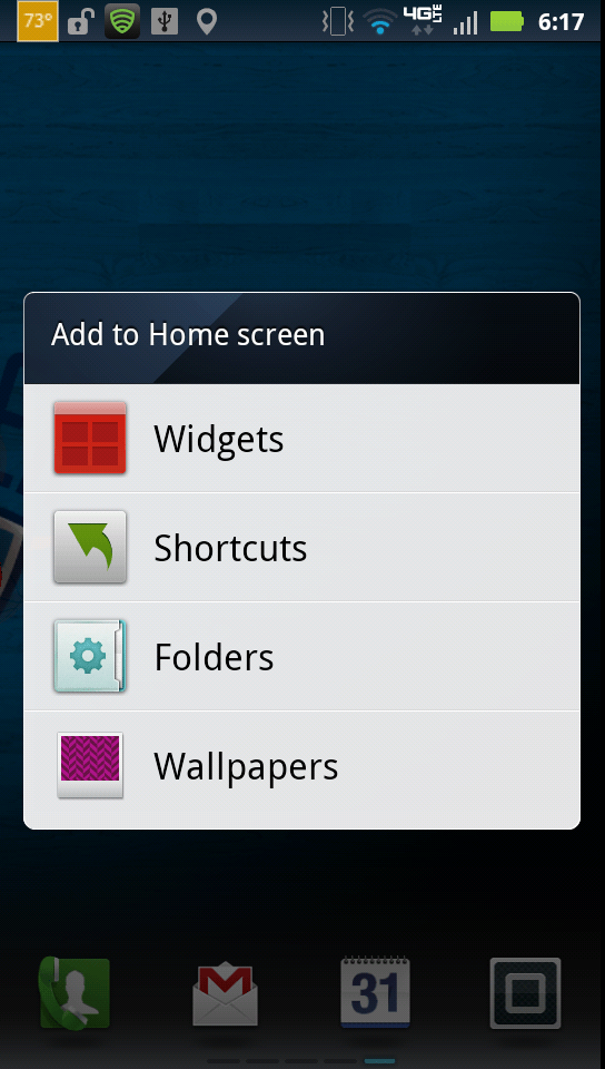 how to add a facebook shortcut to my android