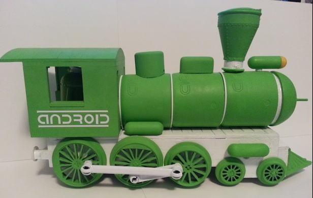 Android Train Sideview