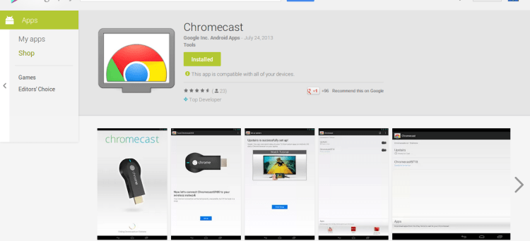 Chromecast - Android Apps on Google Play