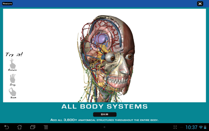 Android App Review Human Anatomy Atlas The Droid Lawyer