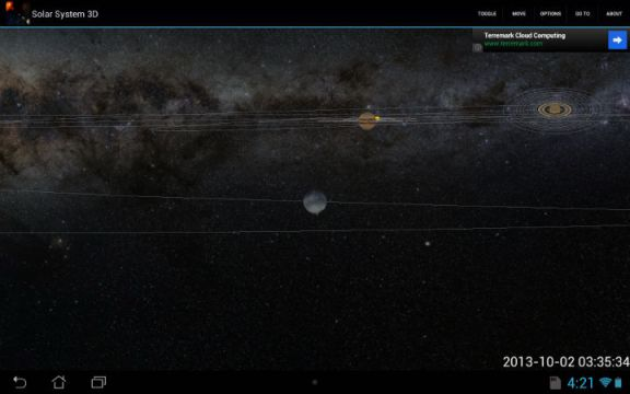 Solar System 3D Overview