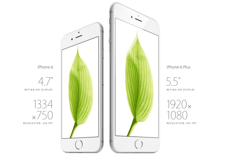 iphone 6 and 6 plus