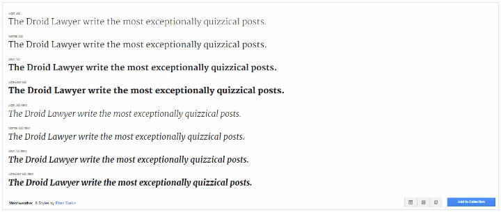 how to my favorite google fonts the droid lawyer