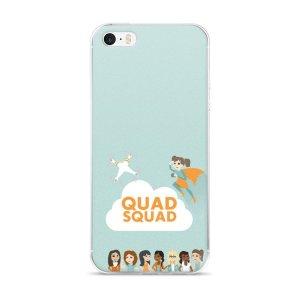 """iPhone 5/5s/SE & 6/6s/Plus/6sPlus case """"Quad Squad"""""""