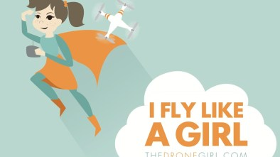 drone girl i fly like a girl