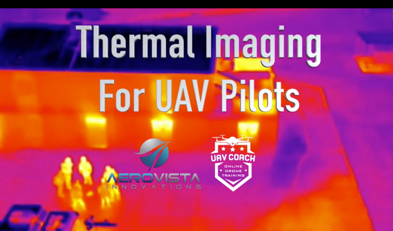 thermal imaging for uav pilots uav coach drone