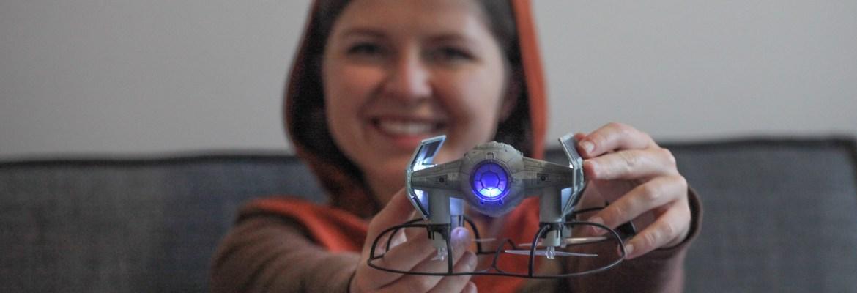 star wars propel drone tie fighter
