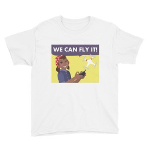 """We Can Fly It"" Youth Short Sleeve T-Shirt"