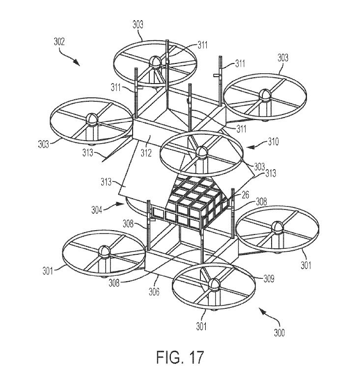 ibm drone patent