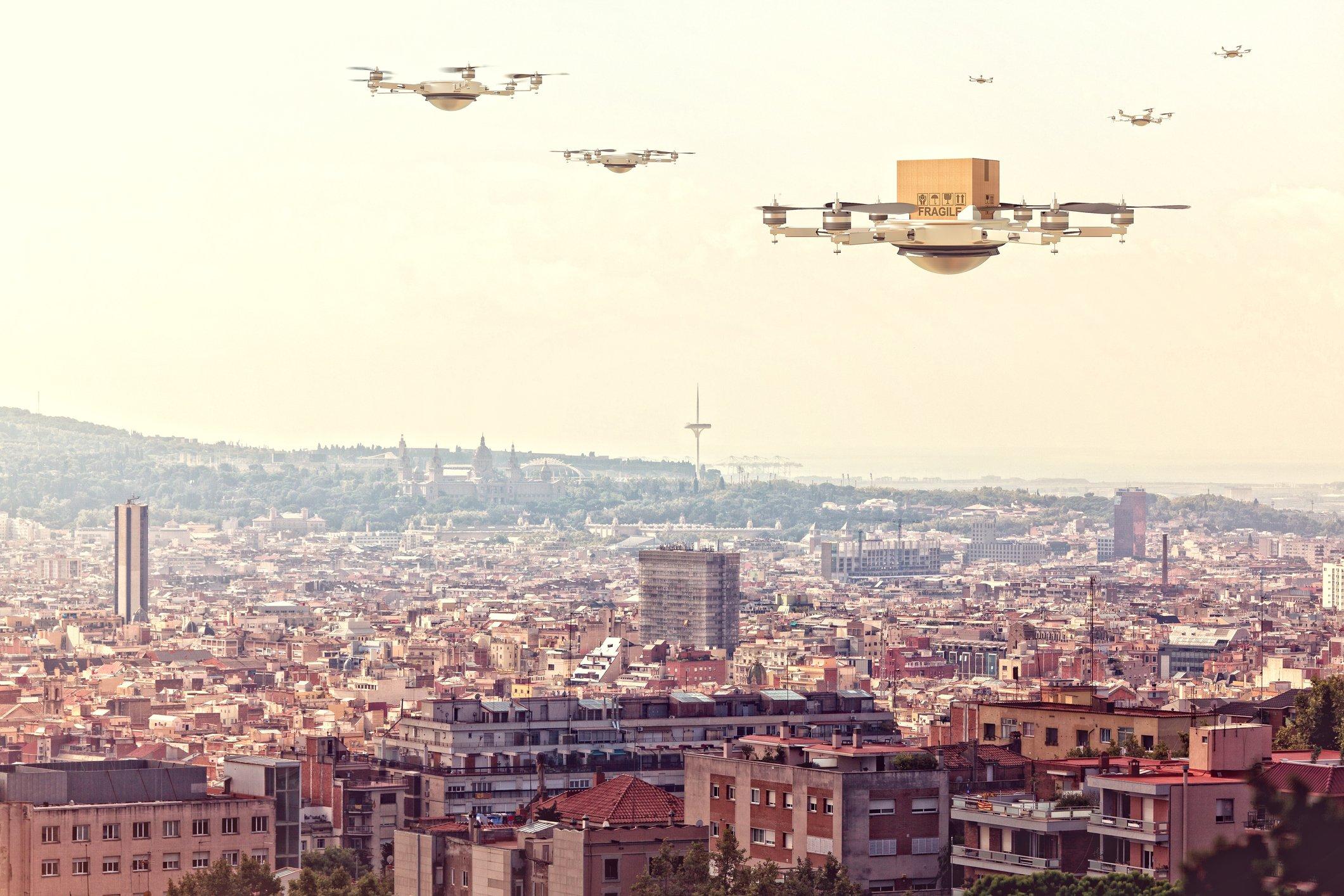 Drone delivery economics: are Amazon drones economically