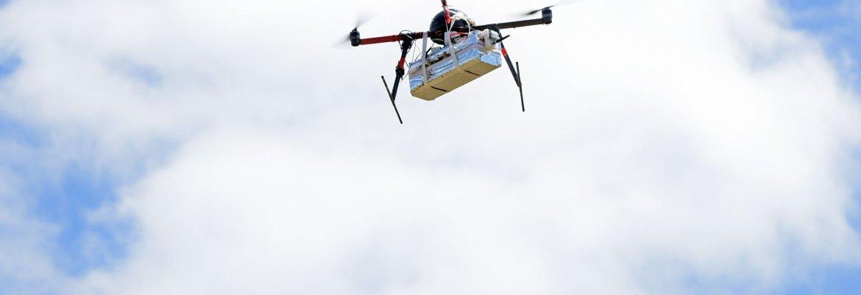 environmentally friendly drone vs truck
