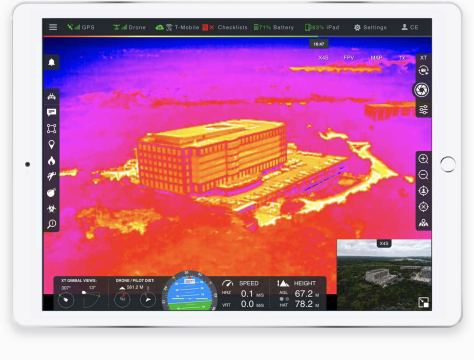 DroneSense FLIR software
