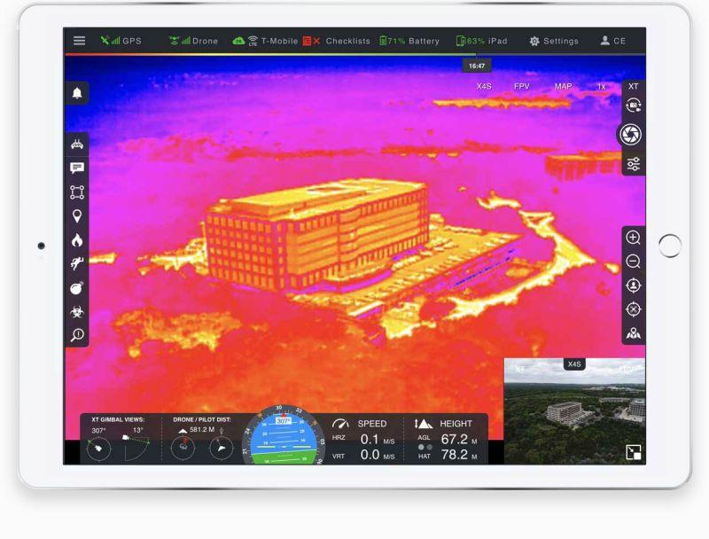 DroneSense FLIR software