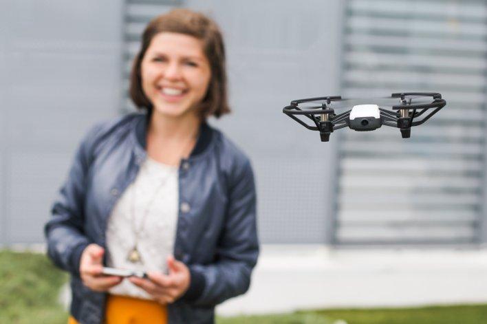 DJI Tello drone review Ryze drone