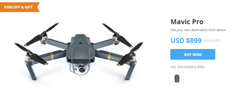 Father's Day sale dji