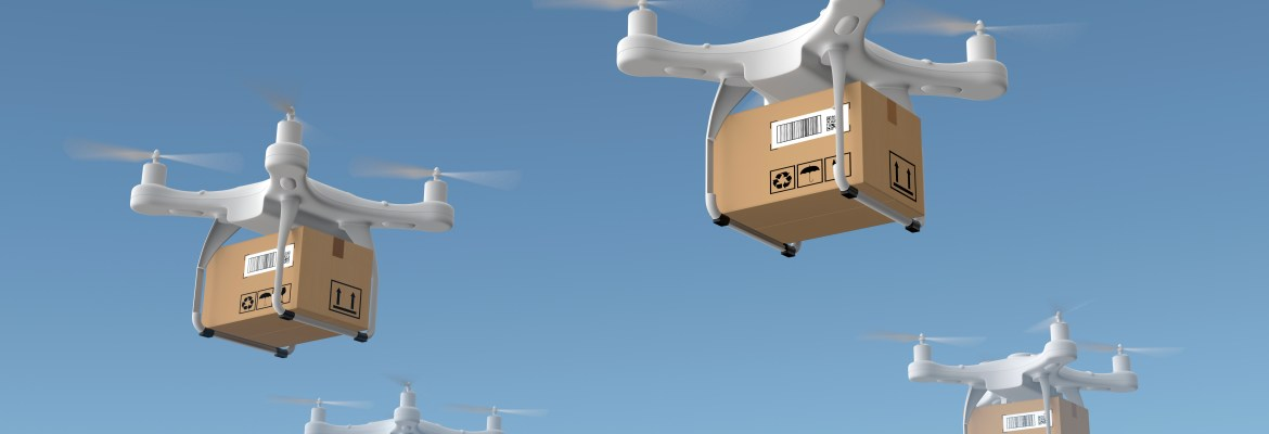 hostile drone takeover amazon delivery patent