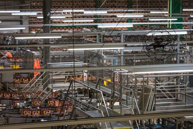 beer factory Pilsner Urquell Czech Flyability Elios