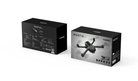 Yuneec Mantis Q consumer drone voice control
