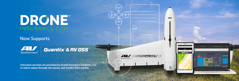 Aerovironment Quantix drone DroneInsurance farmers