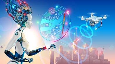 drone startups watch 2019 girl robot ai