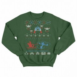 Drone Ugly Christmas Sweater