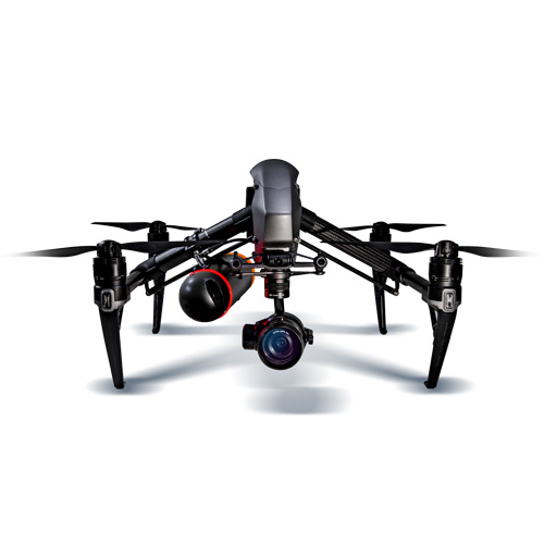Nexus parachute DJI Inspire 2 drone