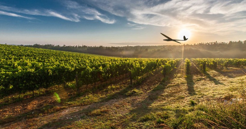 Delair agriculture fixed-wing drone UAV acquired Airware