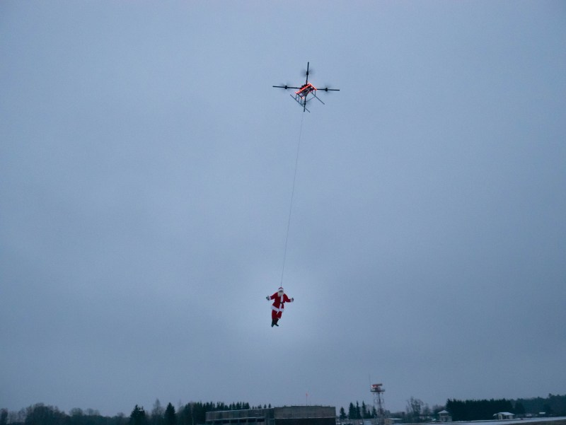 AirBoard AGRO santa drone agriculture heavy lifting latvia elivss