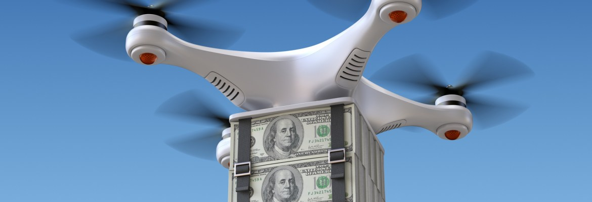drone industry investments 2018 funding investors