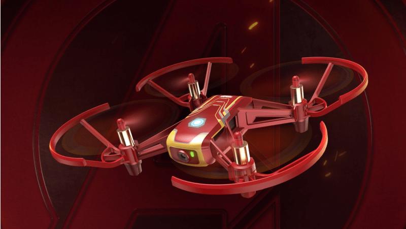 Iron Man Tello drone DJI Ryze Disney Marvel