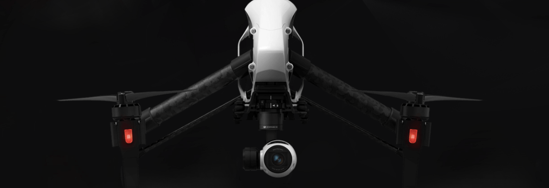 DJI Inspire remove batteries drone