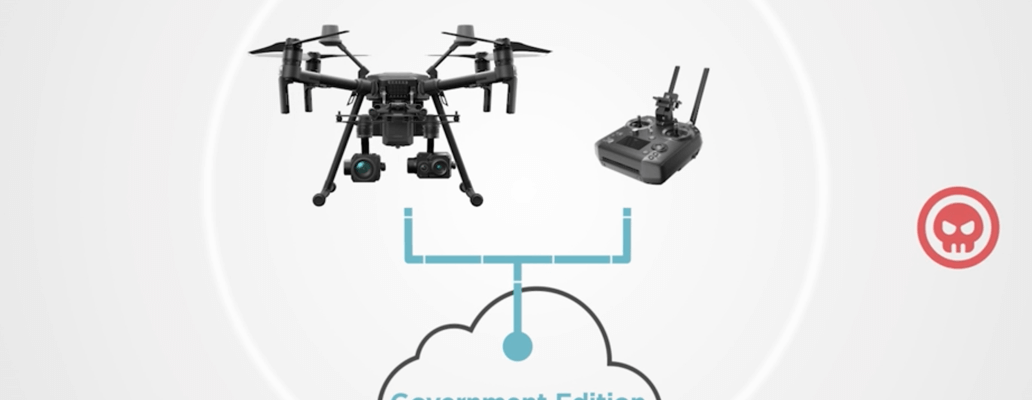 DJI government edition drone