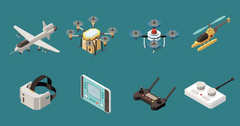 Rotor Talk Live drones Drone Girl assorted drones set group