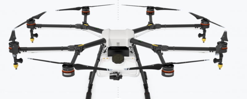 The best drone for spraying: DJI AGRAS MG-1S