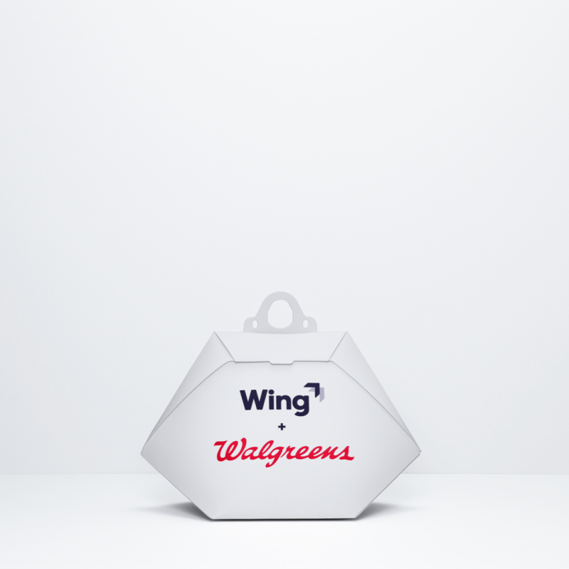 Project Wing Walgreens drone delivery