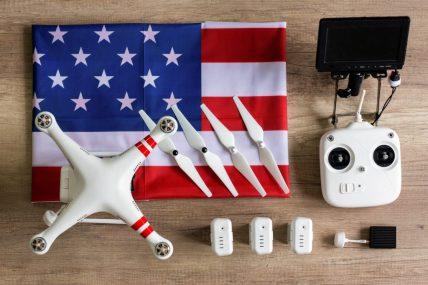 made in the USA DJI drone