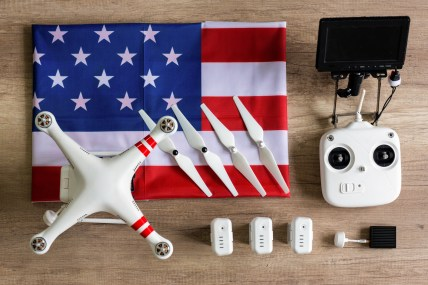 made in the USA DJI drone