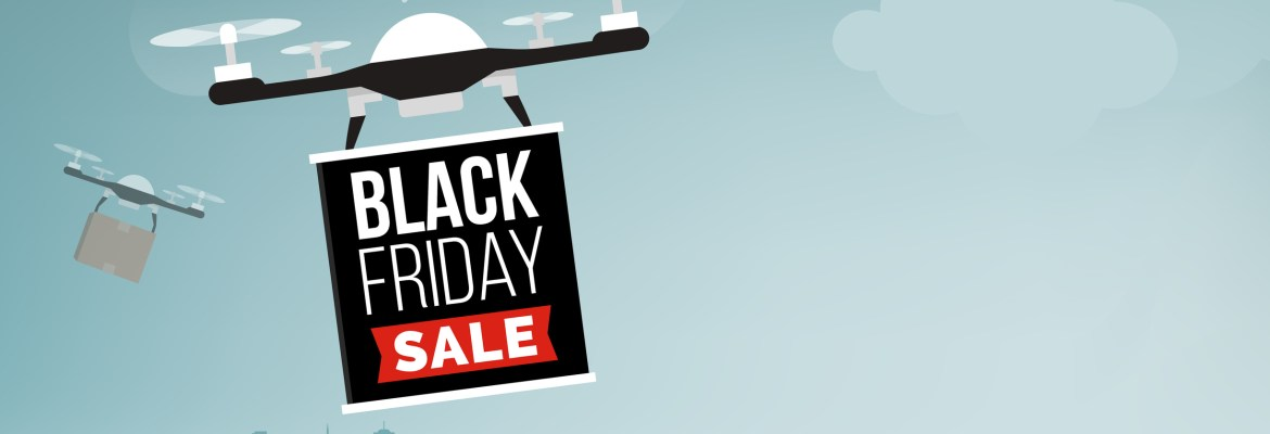 Black Friday drone delivery sale