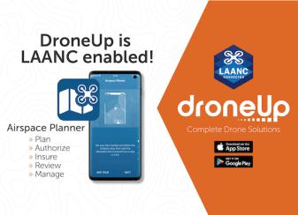 DroneUp Airspace Planner app LAANC