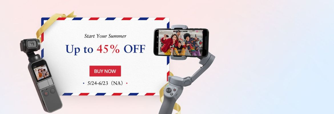DJI Summer Sale 2020 Osmo Action Pocket