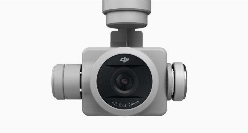 Phantom 4 Pro onboard camera 1 inch sensor mechanical shutter